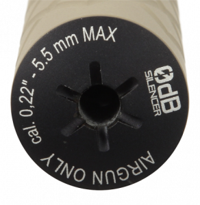 0dB-Silencer Compact Cerakote
